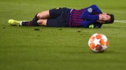برشلونة يعلن غياب ميسي عن مواجهة إيبار