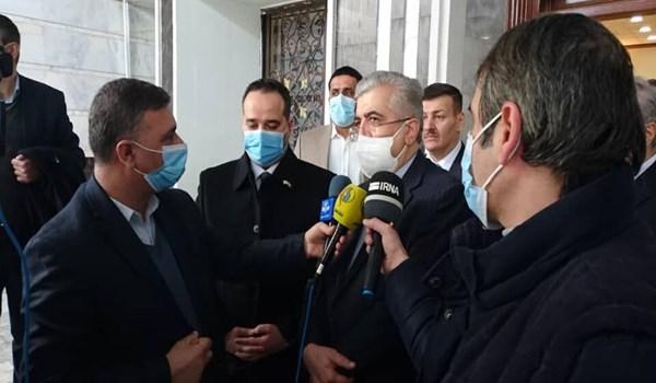 """وزير الطاقة الايراني يعلن تفعيل """"لجنة"""" بين طهران وبغداد متوقفة منذ 6 أعوام"""