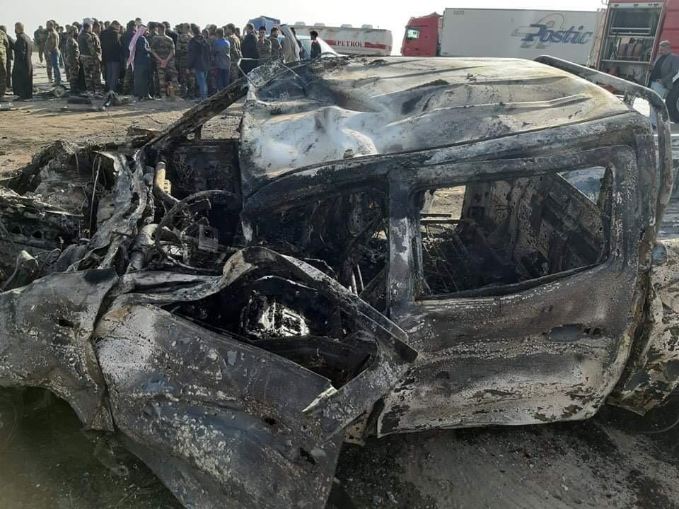 حادث مروّع.. تفحّم جثث 3 مقاتلين بالحشد الشعبي جنوبي العراق