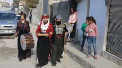كوباني تحيي تقاليداً كوردية قديمة في رأس السنة.. صور