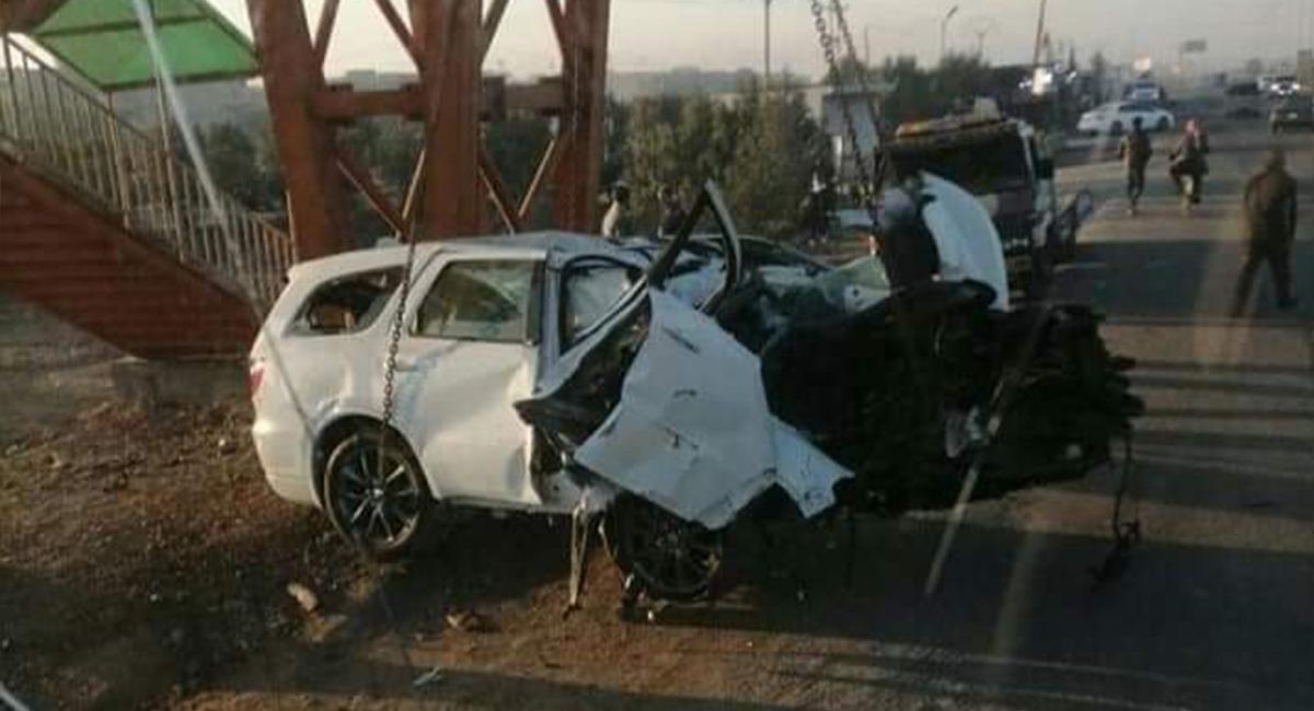 مصرع طفلين وامرأة من أُسرة واحدة بحادث على طريق بغداد - كركوك
