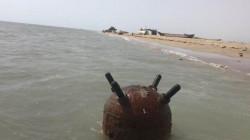 """السلطات تقر بالتصاق لغم بحري """"كبير"""" بناقلة نفط قبالة السواحل العراقية"""