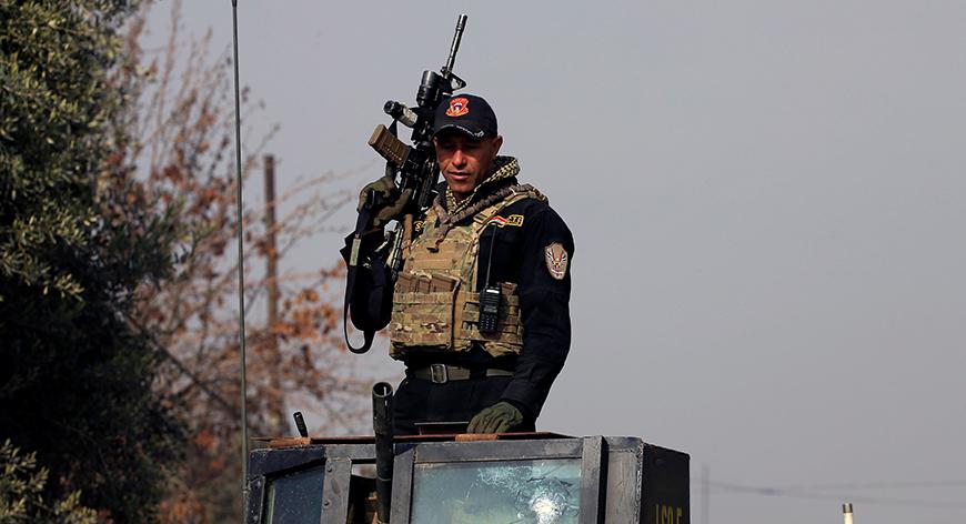 Iraqi forces kill suicide bomber in Kirkuk
