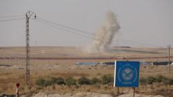 فيديو.. فصائل موالية لتركيا تقصف أطراف بلدة تل تمر