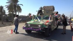 """""""هذه طلباتنا"""".. سكان الانبار يجولون على قطعات الجيش العراقي.. صور"""