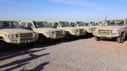 """صور .. التحالف الدولي يزود البيشمركة بدفعة """"كبيرة"""" من المستلزمات العسكرية"""