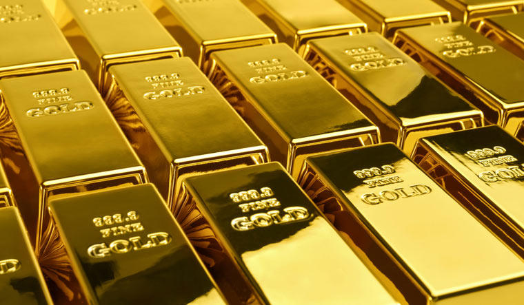 Gold prices rose today Thursday