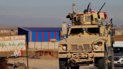 A US Patrol in northeastern Syria