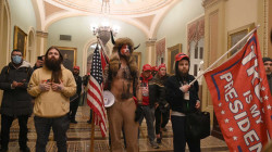 "Pro-Trump ""rioters"" who stormed the Capitol"