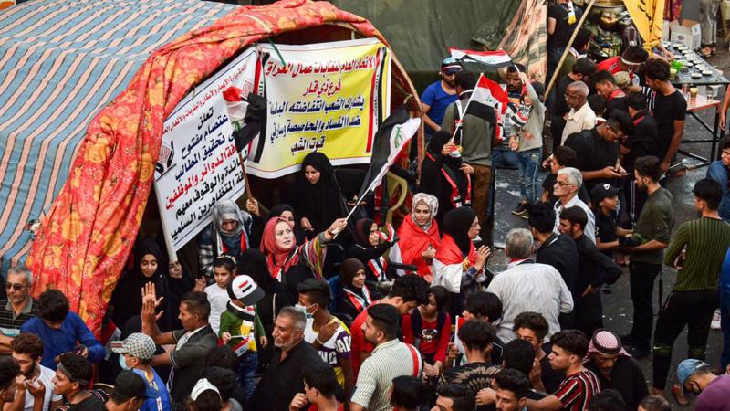 توقيف ضابط وجنود عراقيين بتهمة قتل متظاهرين في الناصرية