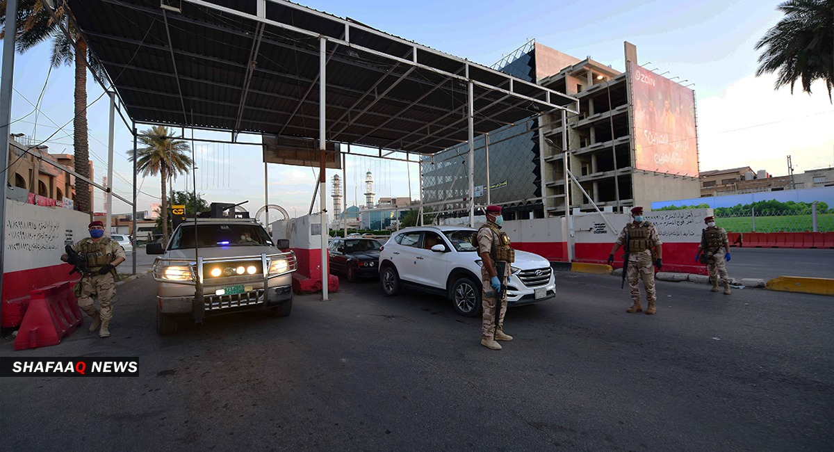 An explosion near a liquor store in Baghdad