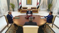 الرئاسات العراقية الثلاث تتفق على ضبط السلاح المنفلت ودعم الانتخابات