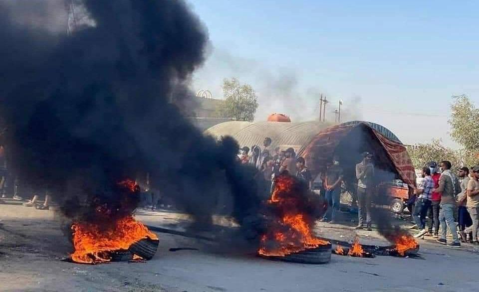 محتجون يغلقون شركة نفطية جنوبي العراق
