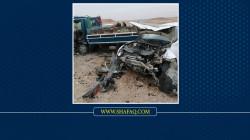 مصرع مدني واصابة اخر بحادثين منفصلين في ديالى