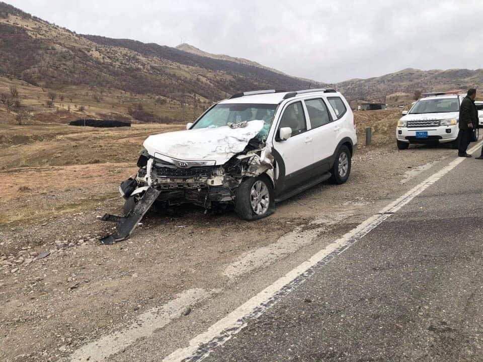 وفاة وإصابة ستة اشخاص بحادث في إقليم كوردستان