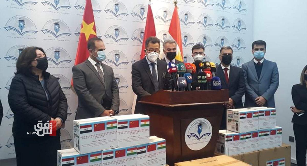 وڵات چین هاوکاری نوویگ لە پێداویستیەیل تەندروسی  دەێدە هەرێم کوردستان