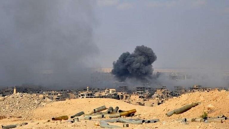 """قائد """"فاطميون"""" ينفي سقوط قتلى في الغارات الإسرائيلية على مواقع في دير الزور"""