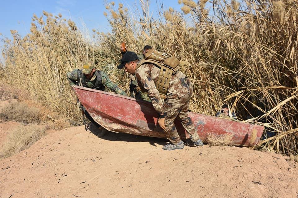 الحشد ينجح في قطع الممرات المائية لداعش في مناطق ساخنة بالعراق