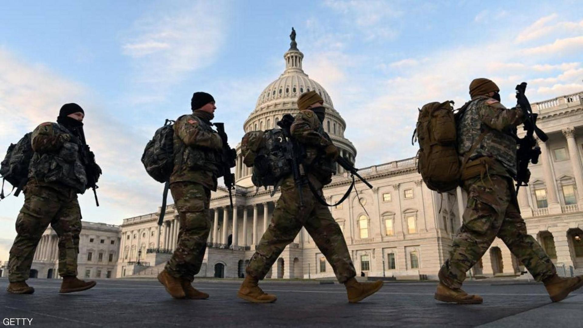 استنفار أمني.. اقتحام وإطلاق نار أمام الكونغرس الأمريكي