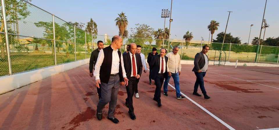 درجال يوعز باستنفار الجهود في اسبوع رياضي لاستقبال لجنة الخليج