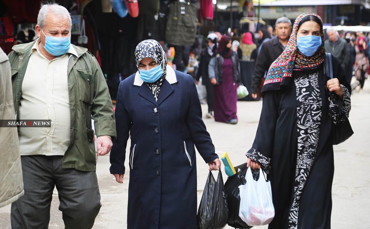 26 حالة إصابة جديدة بفيروس كورونا في شمال وشرقي سوريا