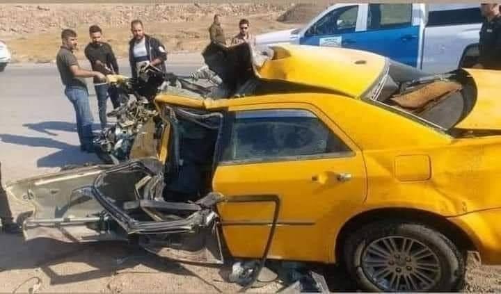 إصابة مدنيين بجروح خطيرة اثر حادث في ديالى
