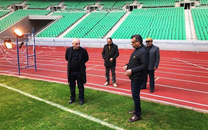 المدينة الرياضية متجهزة لإقامة مباراة العراق والكويت في البصرة