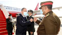 وزير الدفاع التركي يصل إلى بغداد