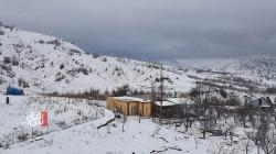 صور.. الثلوج تكسو ناحية في اقليم كوردستان