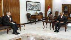 Iraq' President of the Supreme Judicial Council receives the US ambassador