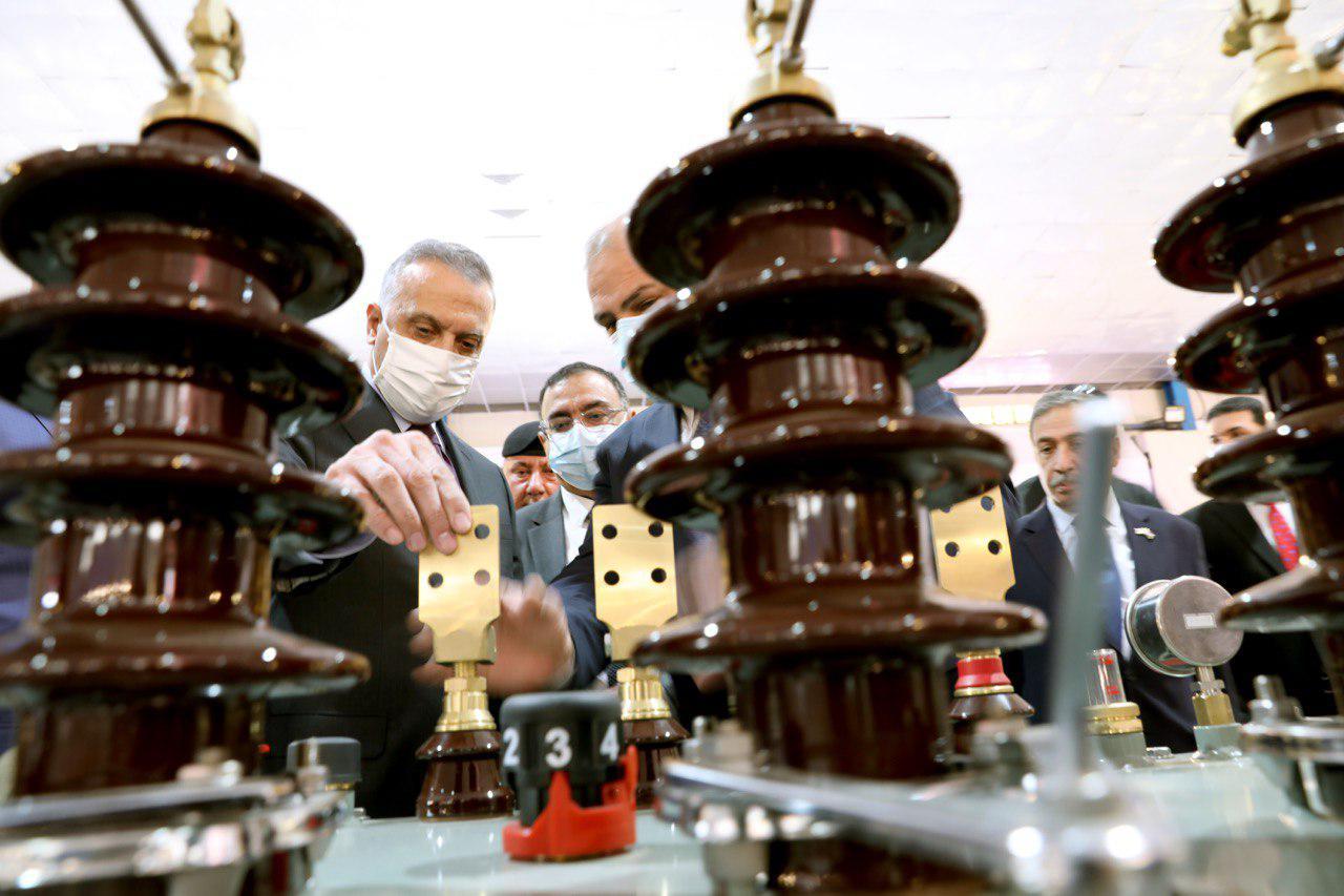 """الكاظمي يطلق """"صنع في العراق"""": نعمل على تحويله سوقاً تنافسياً"""