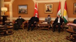 وسط إجراءات مشددة.. وزير الدفاع التركي يصل أربيل