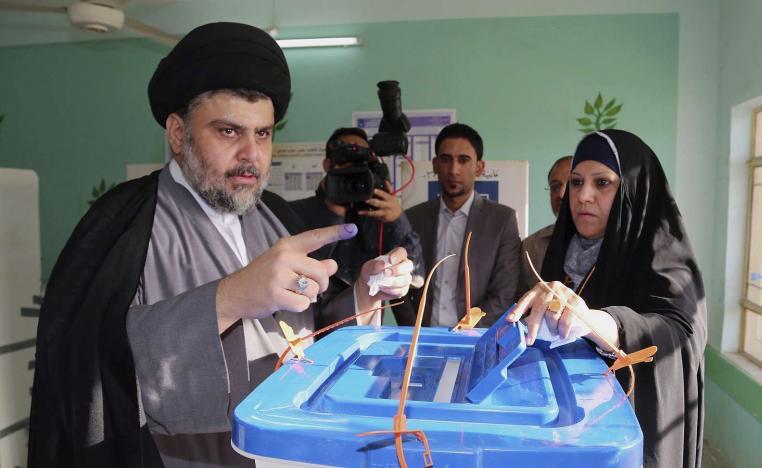 """الصدر يعلن موقفه من تأجيل الانتخابات ويهدد بـ""""قرار"""""""