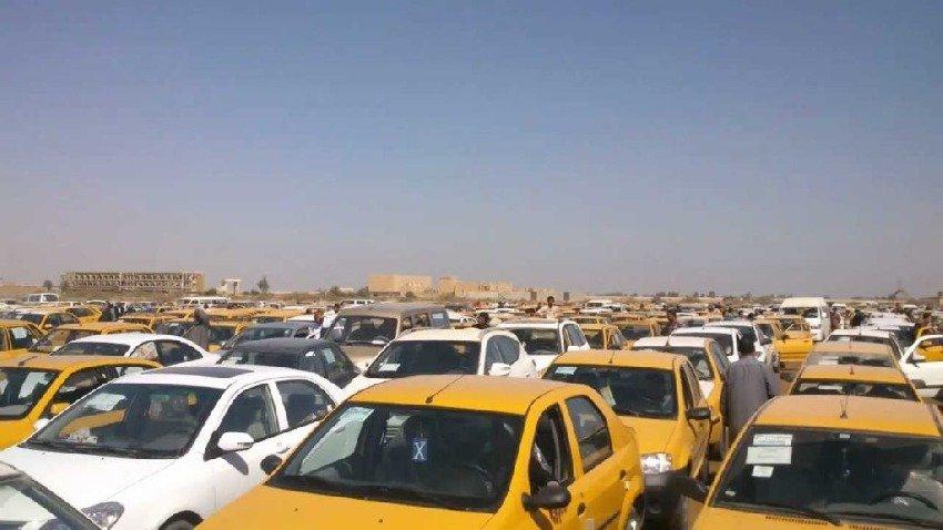 المرور العامة تشدد الاجراءات على السيارات الخصوصي المستخدمة للأجرة