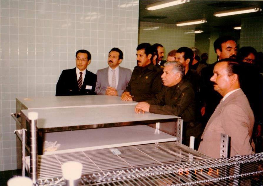 وفاة احد وزراء نظام صدام حسين