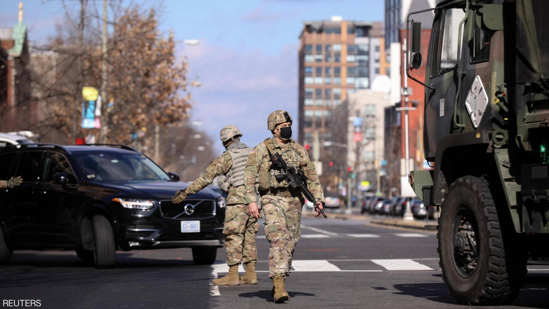 """أسوة ببغداد.. """"منطقة خضراء"""" وسط واشنطن يوم التنصيب"""