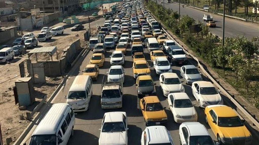 مصدر يُفصح عن أسباب الإختناقات المرورية الحاصلة في بغداد