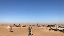 """الحشد يدمر مقر قيادة داعش في صحراء الانبار ويحبط """"مخططاً إرهابياً كبيراً"""""""