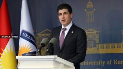 رئيس اقليم كوردستان يهنئ المسيحيين بعيد (اكيتو)