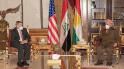 KDP leader meets the US ambassador to Iraq