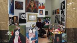 """""""غزالة"""" تتحدى صعاب العوق والحياة بالفن.. صور"""