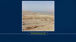 اكبر بحيرة في ديالى تفقد نصف خزينها والسيول الايرانية تغمر سد الوند