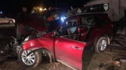 وفاة شخصين بحادث على طريق بغداد - كركوك