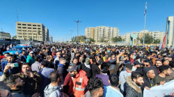 Demonstrators storm the streets of Baghdad amid tight security measures