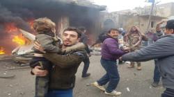 مقتل واصابة 13 شخصا في انفجار سيارة مفخخة في مدينة اعزاز السورية