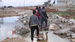 صور.. كابوس الأمطار يفزع سكان الموصل