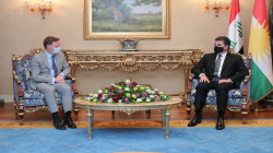 Nechirvan Barzani hosted the British Ambassador to Iraq and discussed the post-election roadmap