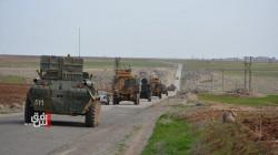 بالصور.. دورية روسية - تركية مشتركة على حدود الادارة الذاتية وتركيا