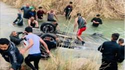 ديالى.. مصرع شخصين جراء سقوط عجلتهما في أحد الأنهر