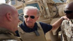 تفاصيل تعرض بايدن الى اطلاق النار في العراق